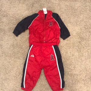Track suit! 6/9 months Los Angeles Angels